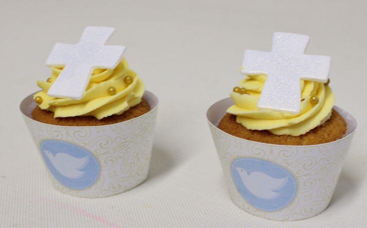 Comunion Cupcakes  Violeta Glace