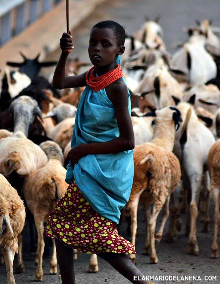 Samburu boy (Samburu park - Kenya)