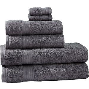 Divatex 6-Piece Bath Towel Set