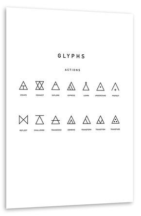 Hipster-Triangles Poster