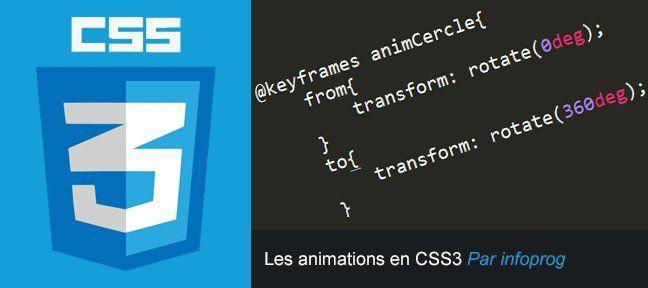 Les animations en CSS3