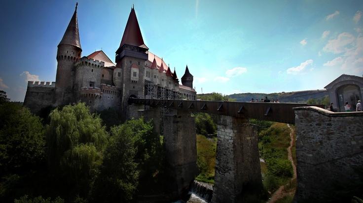 Hunyad Castle, Hunedoara, Romania