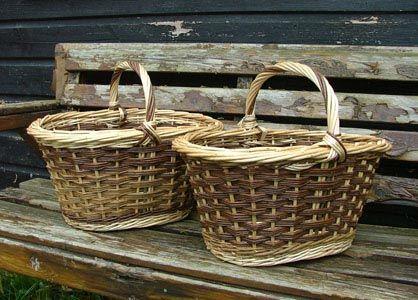 Buff & bark on shopper basket