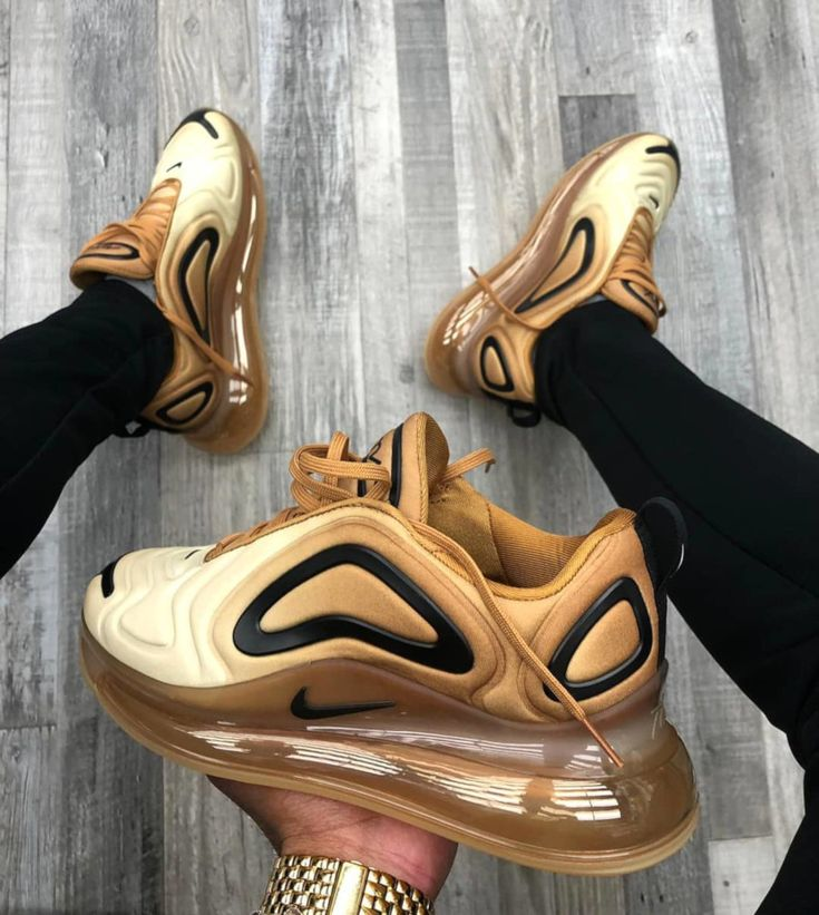 Nike Air Max 720 Club Gold Wheat Black (2019)