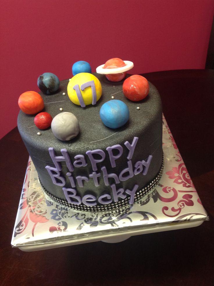 3d solar system birthday cake - photo #3