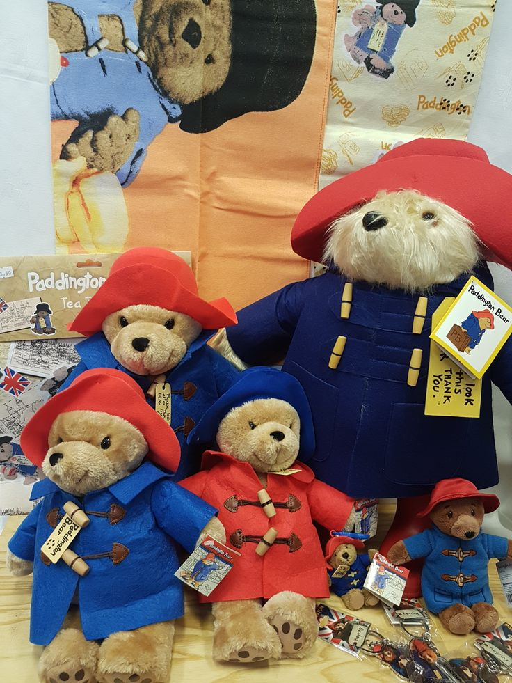 Doncaster icon Paddington Bear is available to take home