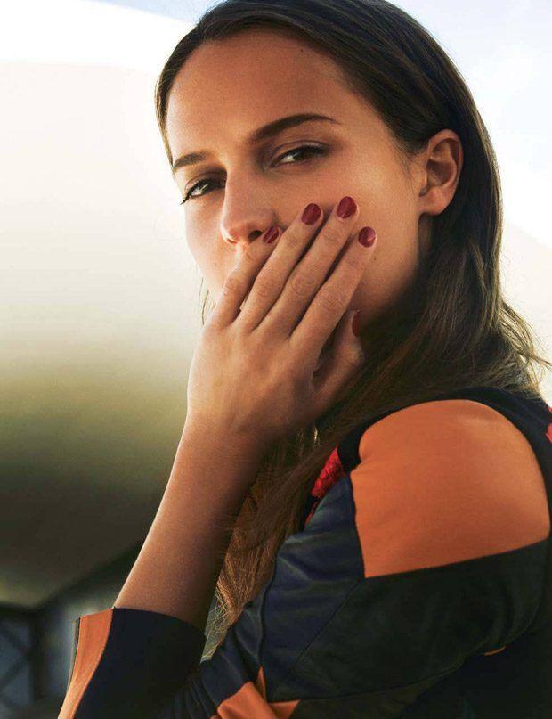 Алисия Викандер (Alicia Vikander) для Marie Claire France