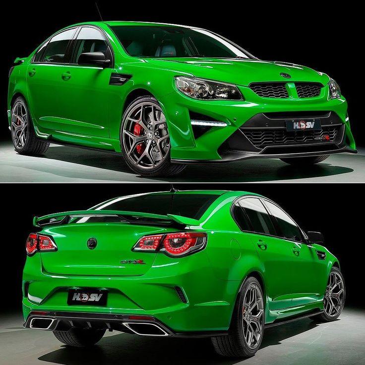 HSV GTSR 2017 Para marcar a despedida do antigo Commodore a Holden Special Vehicles divisão de perfomance da marca australiana que pertence à General Motors preparou versões especiais com muita cavalaria. A partir de 2018 o sedã de grande porte será derivado de um modelo da Opel então essa é a chance dos puristas se despedirem em grande estilo. O GTSR tem visual impactante e motorzão V8 6.2 de 591 cv. Transmissão manual ou automática de seis marchas. Além desse da foto a HSV preparou o GTSR…