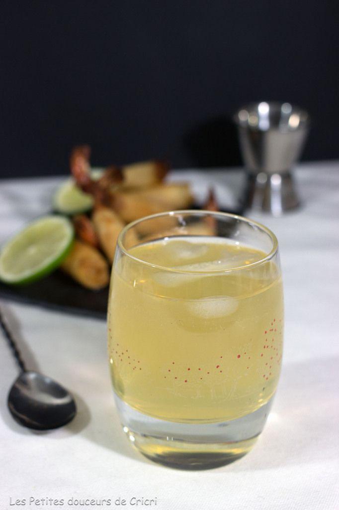 Le Collins, cocktail à base de Calvados Père Magloire