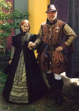 Ropa Espanola (Spanish Gown-Lizapalooza: Historic Costume Research, Recreation and Ruminations-Mathew Gnagy