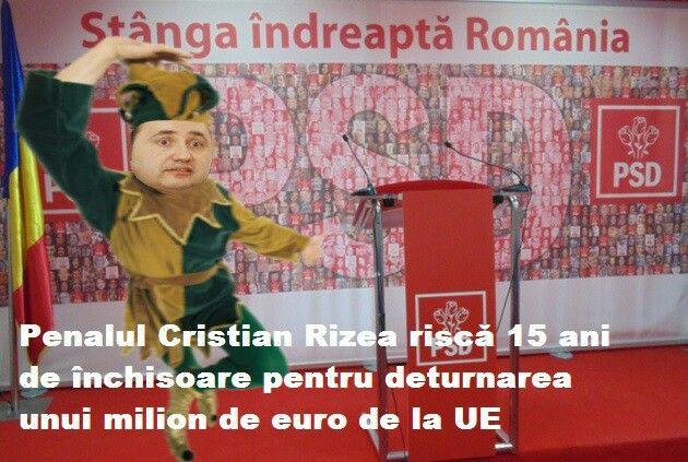 Cristian Rizea risca 15 ani de pușcărie pentru deturnare de fonduri europene