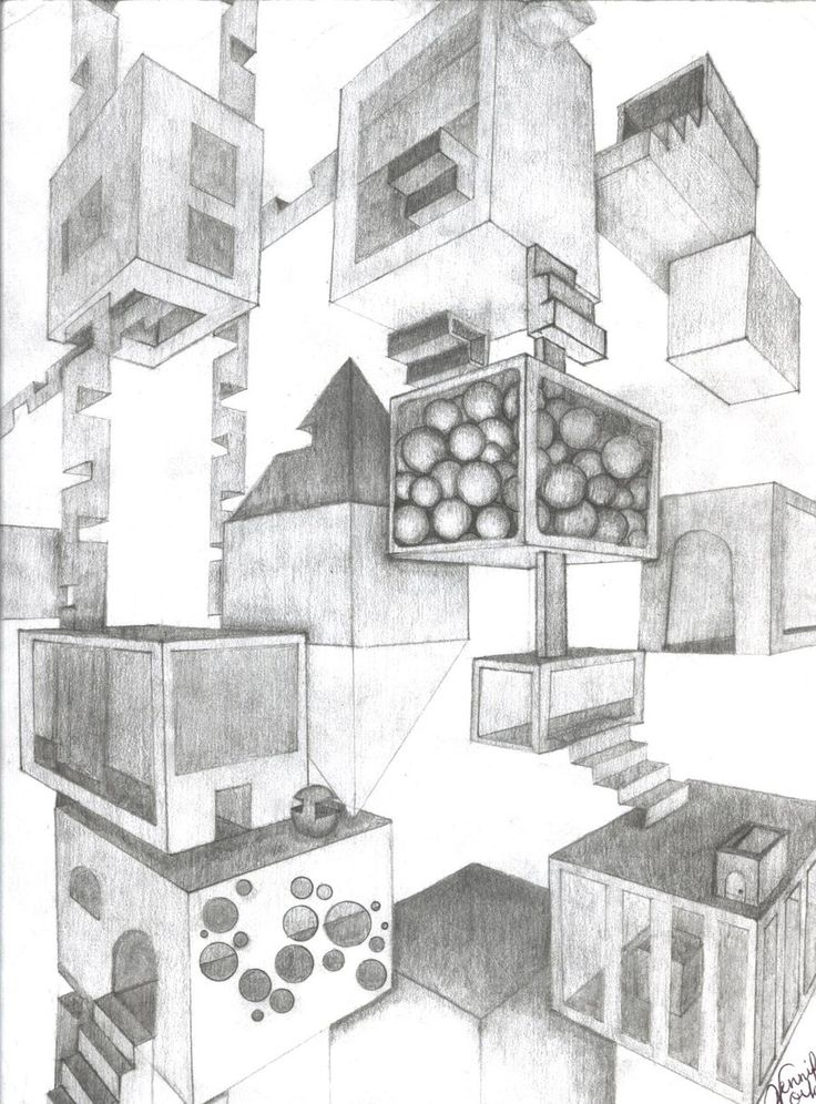 Two Point Perspective by Ritawolf.deviantart.com on @deviantART