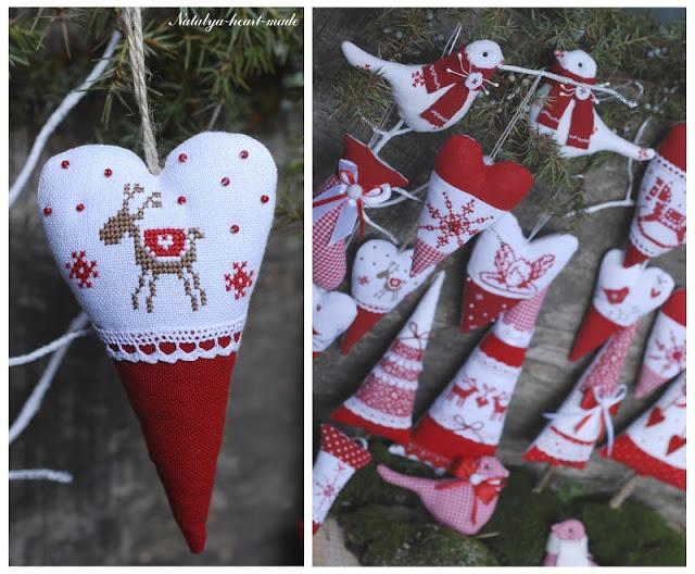 heartmade: Червоно-біла зима / Красно-белая зима
