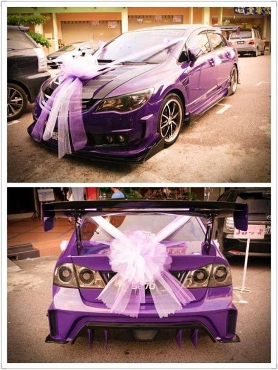 Modified Honda Civic - Wedding Car