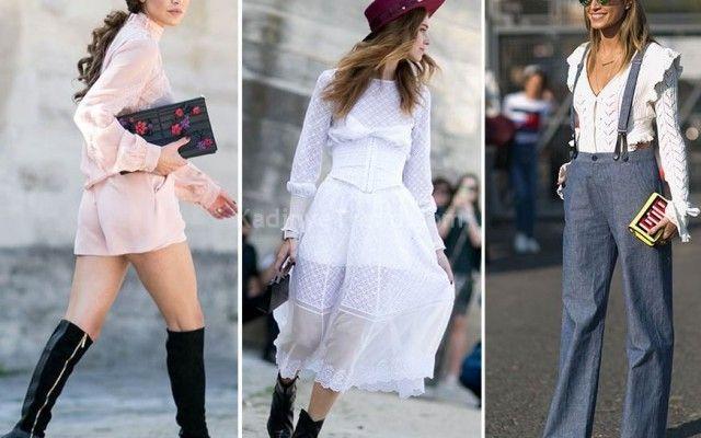 Paris Moda Haftası: 2016 İlkbahar yaz En İyi Sokak Modası Stilleri | kadın ve trend