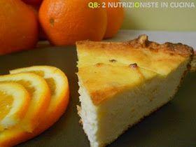 Q B Le ricette light: Torta di ricotta senza zucchero al profumo di arancia