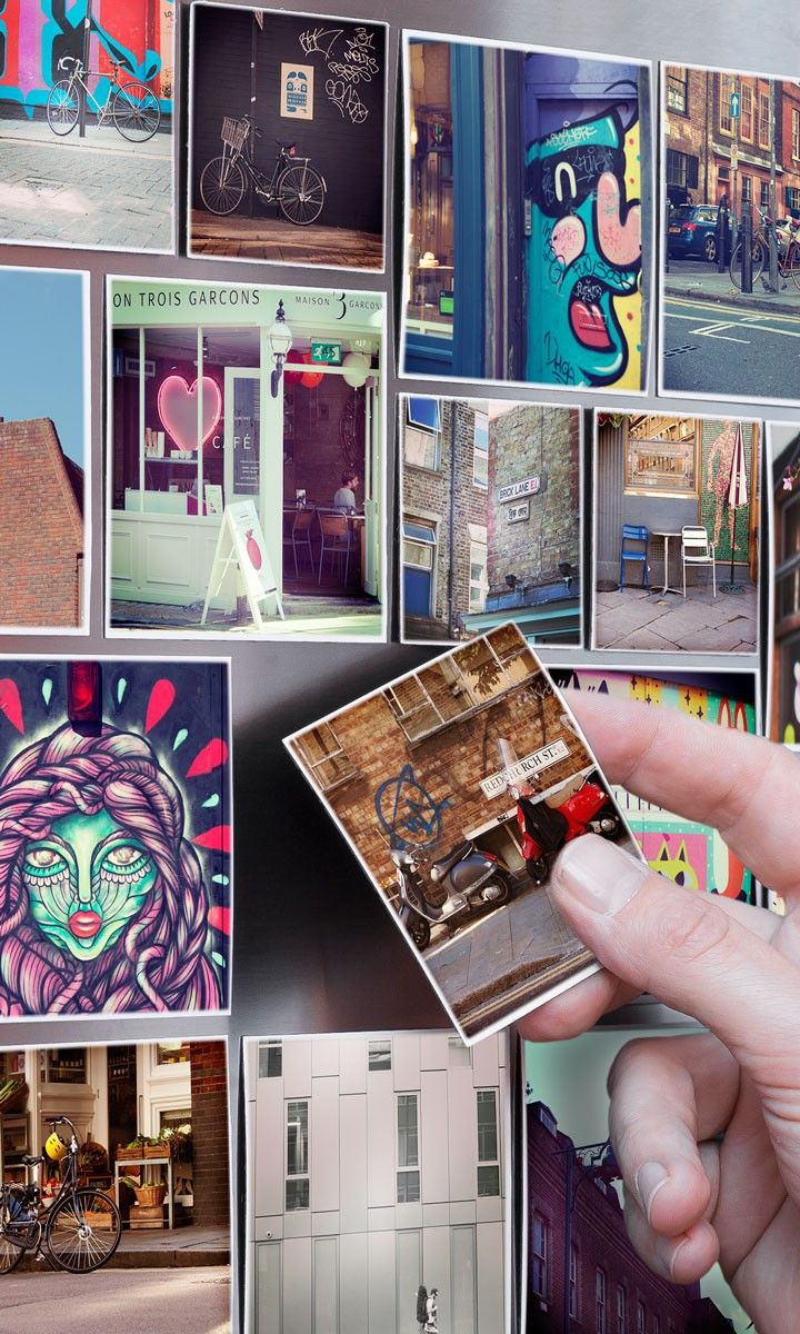 magnets made from instagram photos