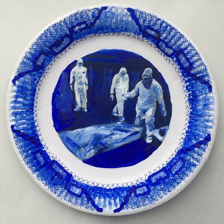 E is for Ebola #newspaper #blue #delftblue #willowpattern #china #plate  sc 1 st  Pinterest & 15 best Tisnau0027s Delft Blue Willow Pattern Paper Plates images on ...