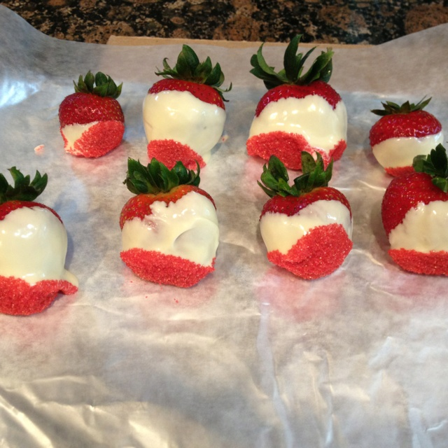 Canada Day Strawberries