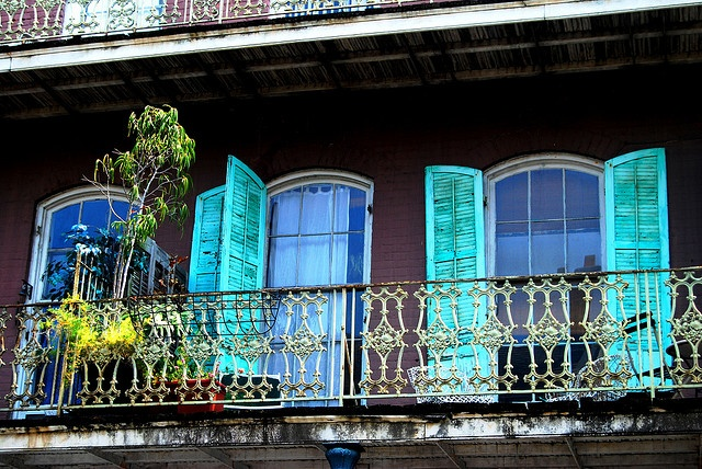 New orleans french quarter balcony balcony pinterest for French quarter balcony