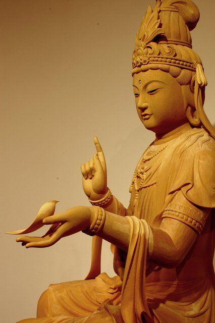 延命観音像   仏像販売・仏像彫刻の専門店の仏像彫刻原田