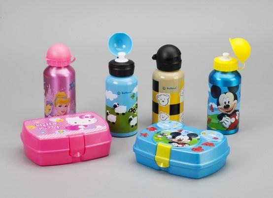 Las botellas y sandwicheras más divertidas para los niños