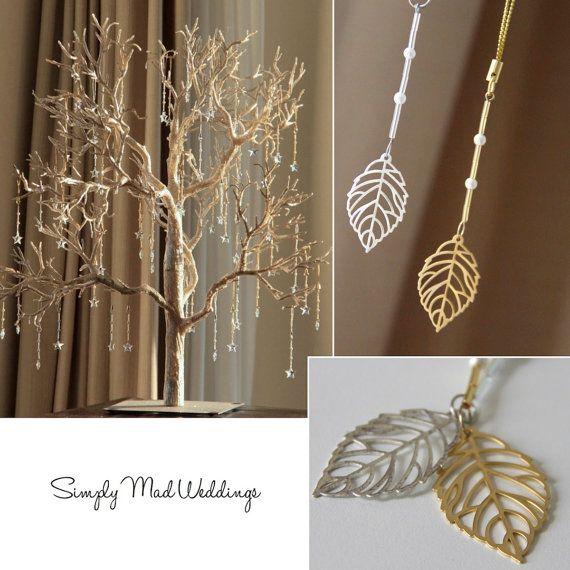 Wedding Favor Wishing Tree Fall by SimplyMadWedding. Love this!