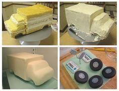 Camioneta pastel