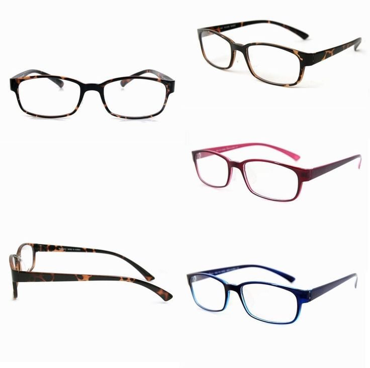 TR90 Full Rims Eyeglasses Women Men Glasses Clear Lens Vintage Spectacles T17 #EYELUCY