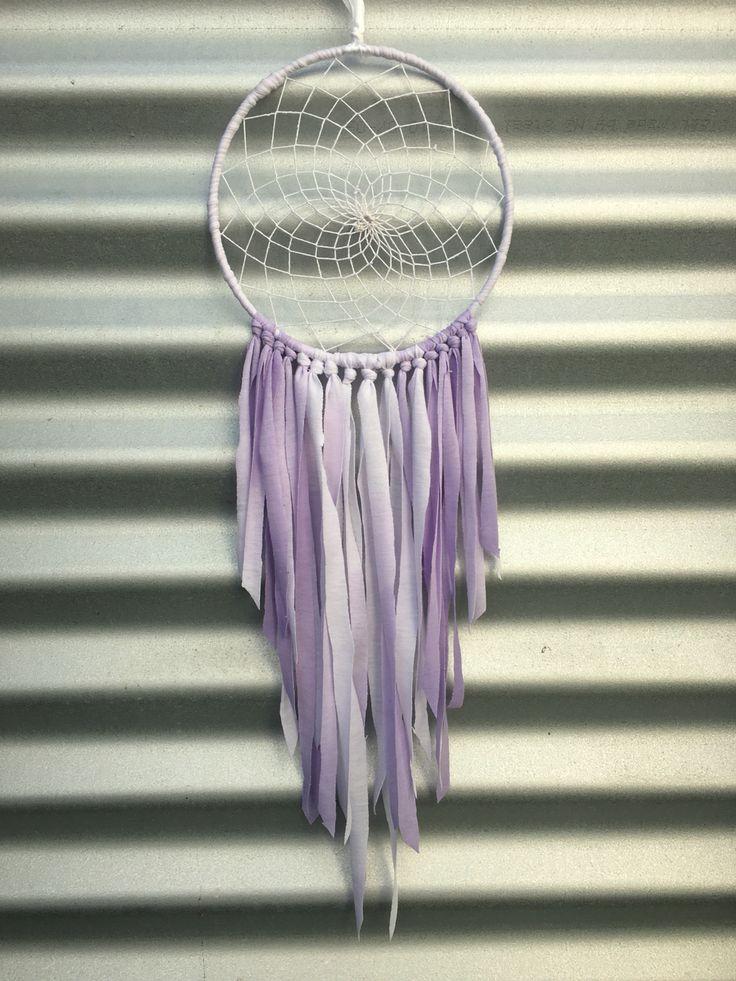 Lilac tie dye sweet dream catcher. Xx