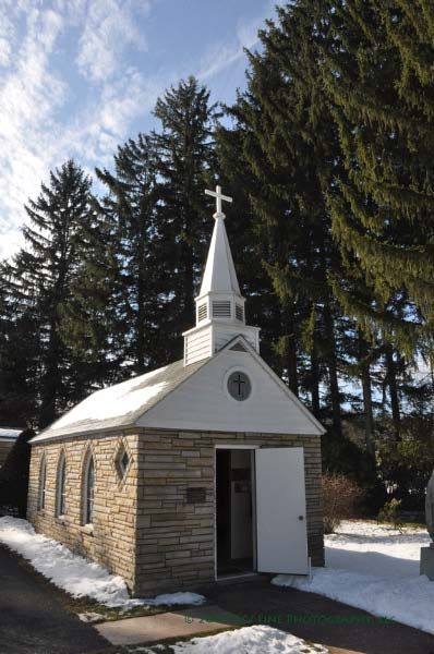 "Smallest Church in the 48 States - This is located near Silver Lake, West Virginia. It is designated as the smallest church in the ""lower 48 states."" It was originally built for a family, and is still in occasional use. This is near Blackwater Falls State Park."
