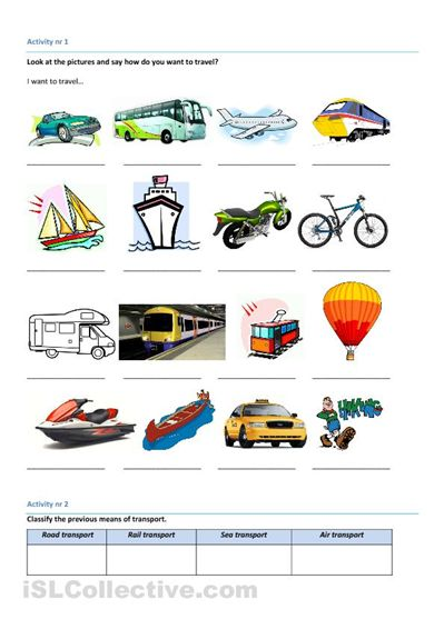 means of transport worksheets electric scooters for kids and adults that would be a good. Black Bedroom Furniture Sets. Home Design Ideas