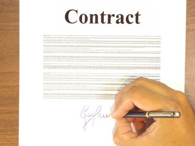 Doc407527 How to Write a Contract Between Two People – How to Write a Contract Between Two People