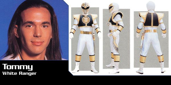 Tommy - the white power ranger