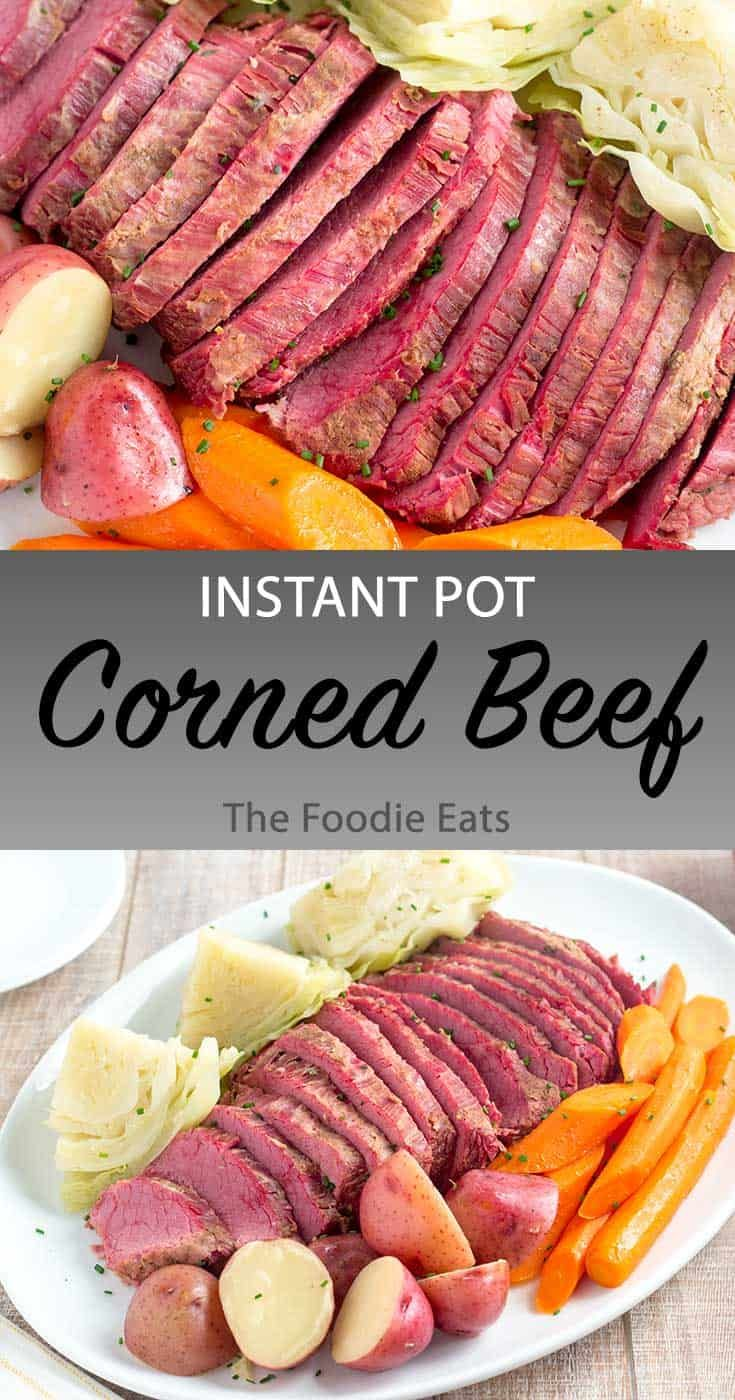 Instant Pot Corned Beef And Cabbage Recipe Pressure Cooker Corned Beef Instant Pot Dinner Recipes Corn Beef And Cabbage