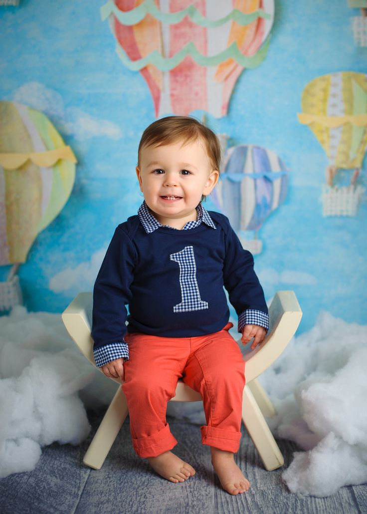 Preppy baby boy first birthday outfit Baby boy birthday