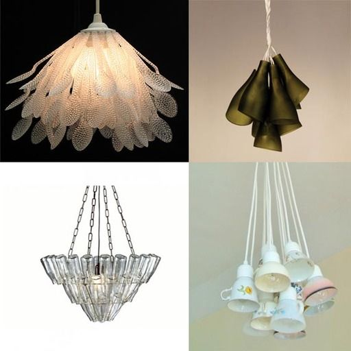 17 best images about recycled materials into beautiful for Creative waste material recycling