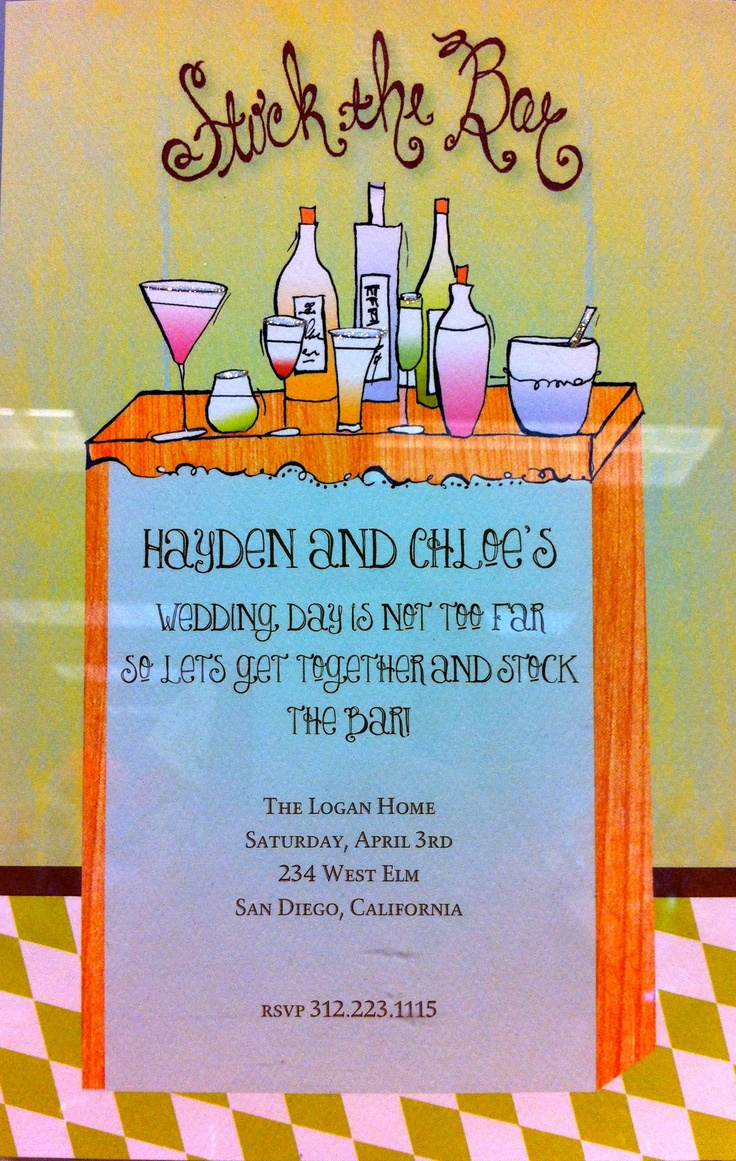 17 best The Inviting Place: Wedding Party Invitations images on ...