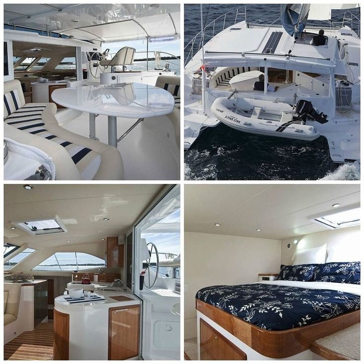 """Introducing """"Karma Kat"""" Montebello 1250. This Australian built luxury catamaran was specifically built for the tropics meaning plenty of air flow throughout for those hot days. With it's 4 queen ensuite cabins upstairs gallery & spacious well appointed saloon and back deck this catamaran is the true epitome of sailing in style! See link in bio for more info. #CharterYachtsAustralia by charteryachtsaustralia http://ift.tt/1UokkV2"""