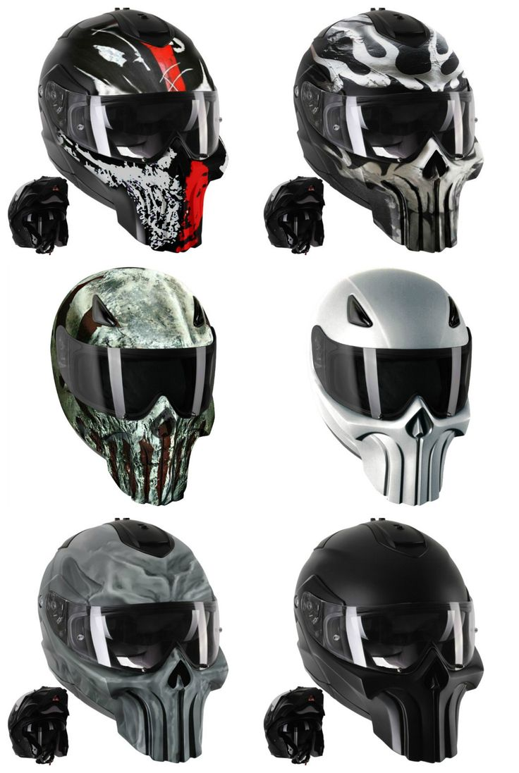 Punisher Modular Motorcycle Helmets