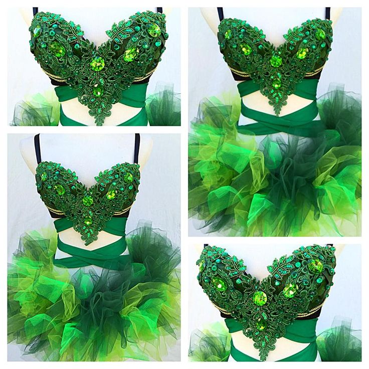 By: Electric Laundry  Would be a cute poison ivy look