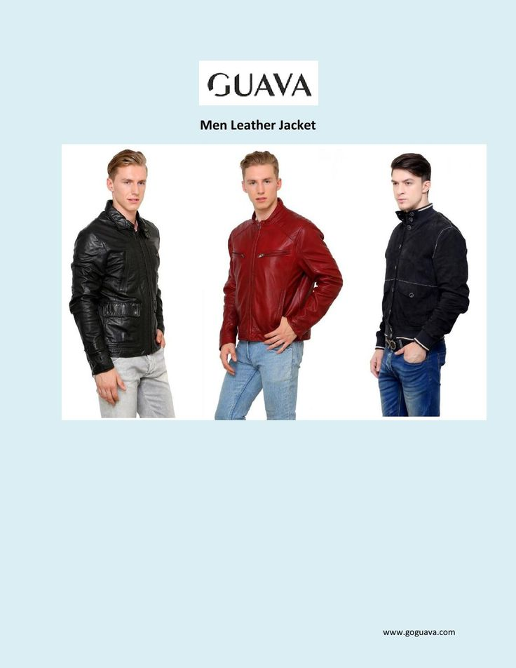 Men Leather Jacket  Buy Online Men Leather Jacket - Goguava  Leather jackets are today's stylish and most fashionable clothes, Get leather jacket for men's and women's form our online store Goguava.com.  http://goguava.com/clothing/men/jackets
