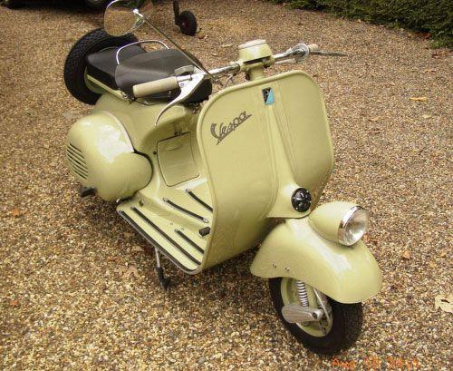 1953 Vespa Faro Basso scooter on eBay