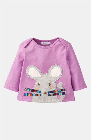 Mini Boden 'Animal' Appliqué Tee (Infant) available at #Nordstrom