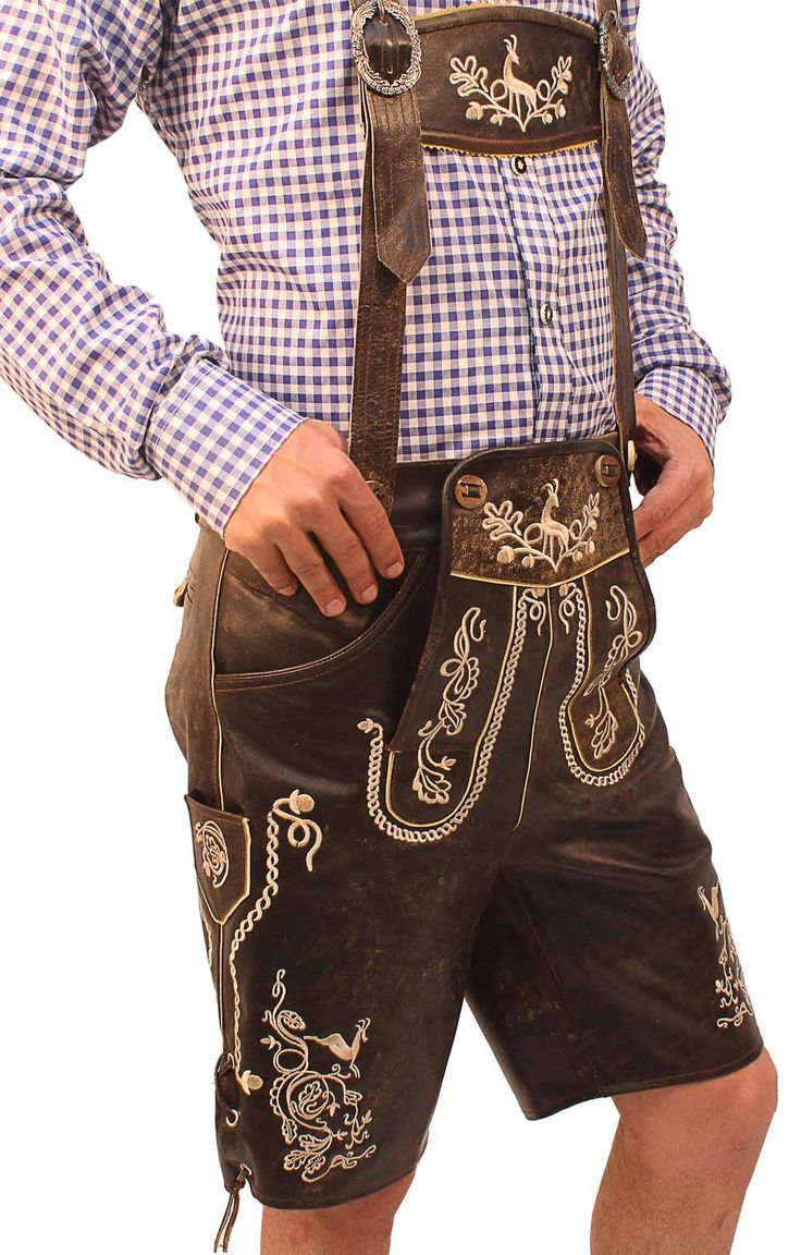 Shop at: Lederhosenstore.com Authentic lederhosen for men. Long