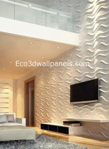 Eco 3d wall panels  wallpaper