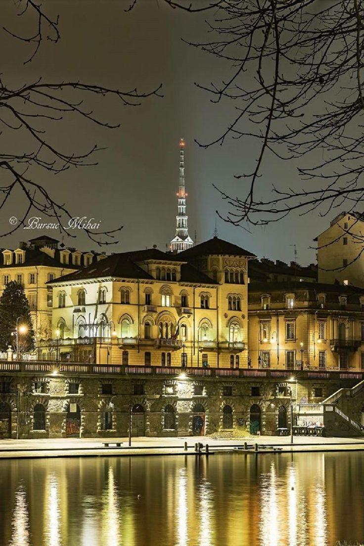 Torino i Murazzi sul Po