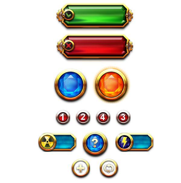 艺术品宝石宝石/宝石驱逐舰游戏界面_点击查看原图