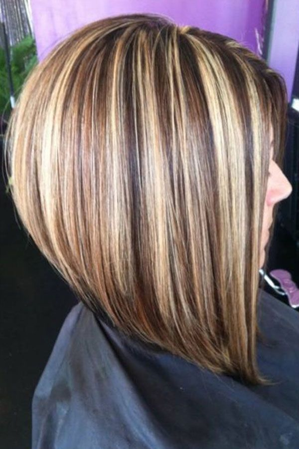 30 Stacked Bob Haircuts For Sophisticated Short Haired Women - Part 7