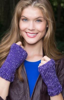 Hocus Pocus Wristlets - UK knitting instructions